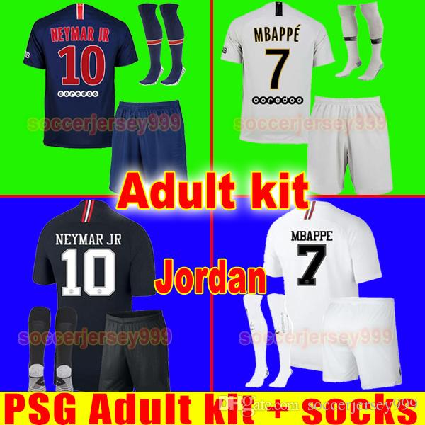 0144768e5 2019 TOP PSG Soccer Jersey Adult Kit 2019 Paris Third AIR JR MBAPPE CAVANI  Saint Germain Jerseys 18 19 Football Shirt Uniforms Maillot From  Soccerjersey999