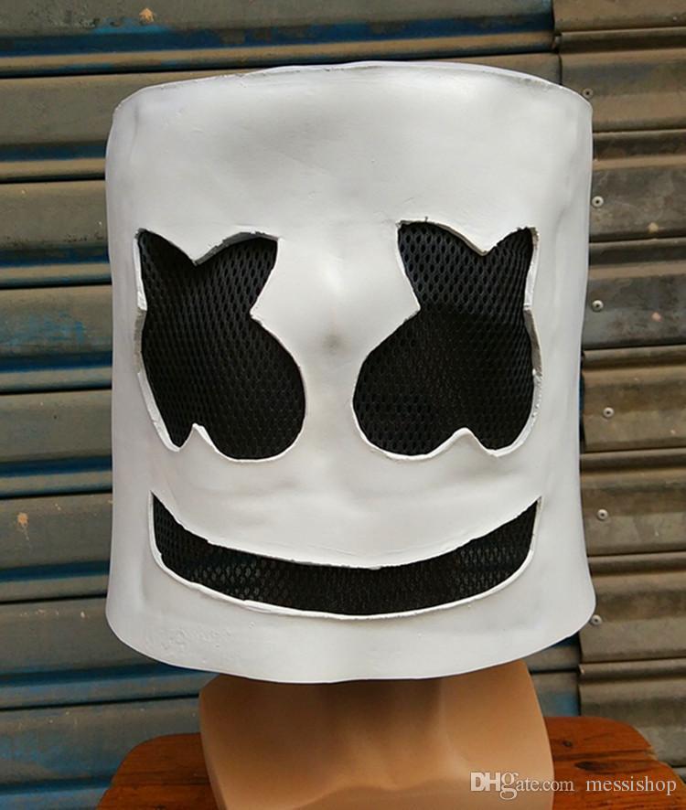 maschera marshmello dj  Negozio di sconti online,Maschera Marshmello Dj Con Led