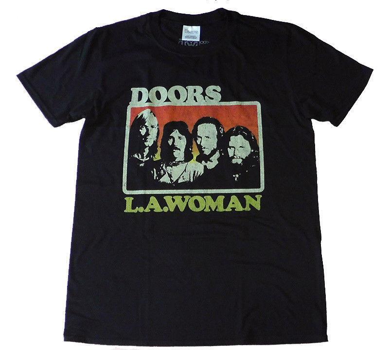 THE DOORS L A  Woman official T shirt MEN LARGE Jim Morrison