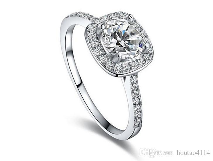 Anel de diamante em forma de mulheres 2018 austríaco ouro rosa de ouro anel de diamante de cristal, moda incrustada jóias anéis de banda feminina