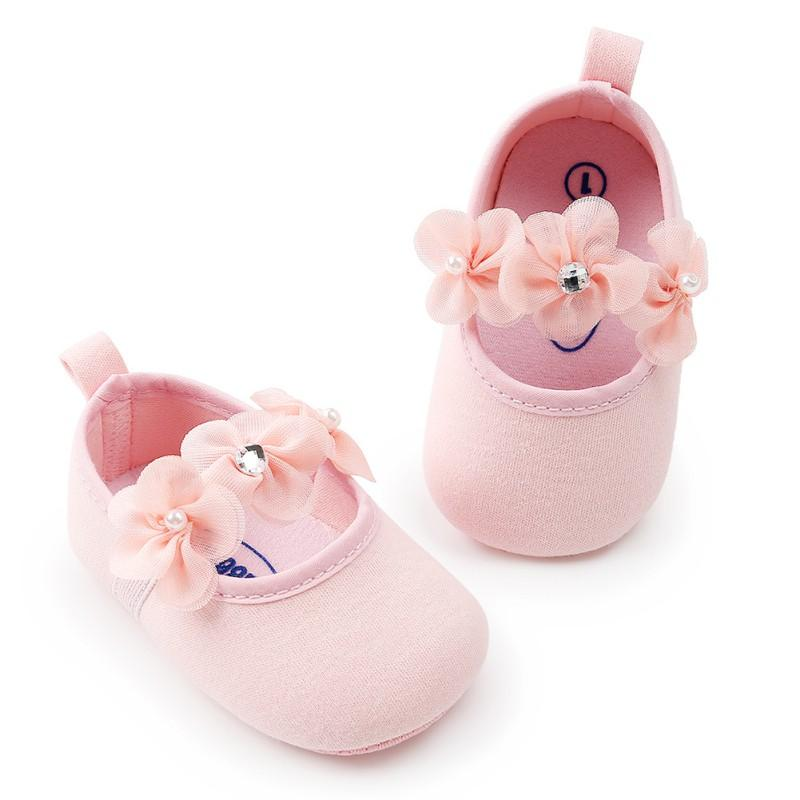 Mother & Kids 100% True Spring Summer Baby Girls Princess Shoes Casual Infants Newborn Girl Polka Dot Flower Lovely Shoes For 0-18 Month Baby