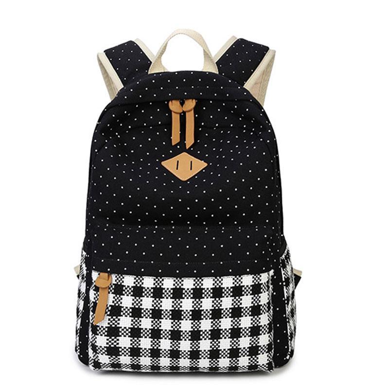 Großhandel Jiaruo Canvas Schultasche Für Mädchen Kinder Rucksack