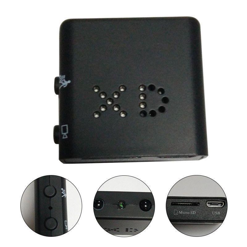Ir-Cut كاميرا مصغرة أصغر 1080 وعاء كامل عالية الدقة xd مصغرة كاميرا الفيديو الأشعة تحت الحمراء للرؤية الليلية مايكرو كام كشف الحركة dv dvr كاميرا
