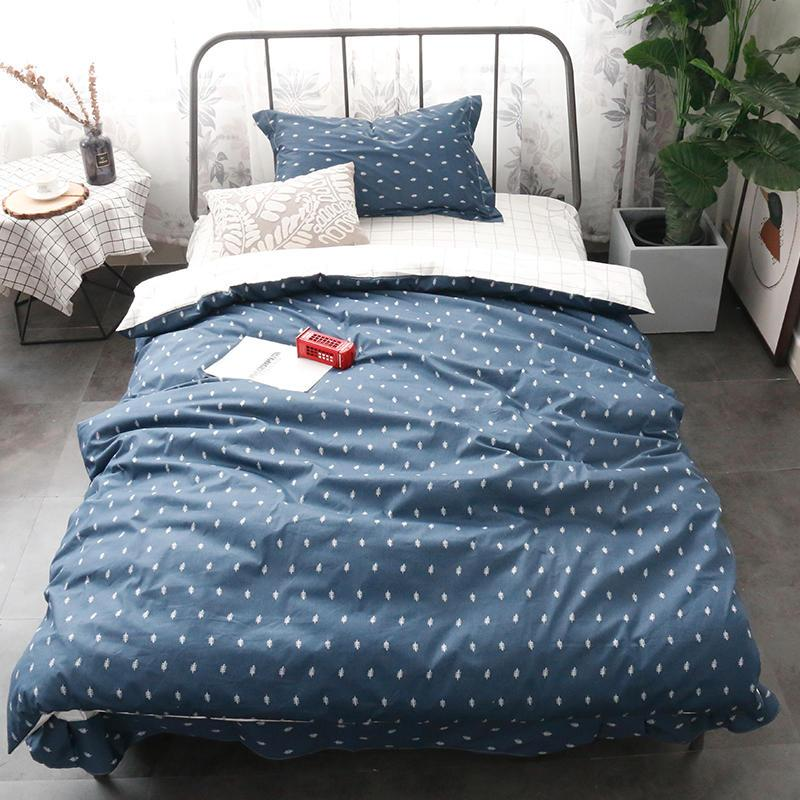 New Bedding Sets Geometric Pattern Bed Linings Duvet Cover Bed Sheet