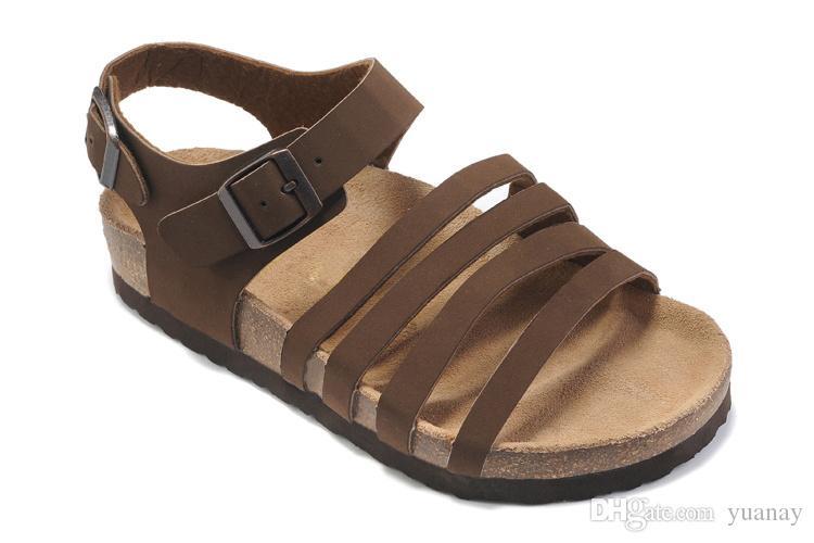 Frete grátis!!! Venda quente Sandálias Casuais Moda chinelos de cortiça Mulher de Verão chinelos de praia virar antiderrapante Feminino tamanho 35-40