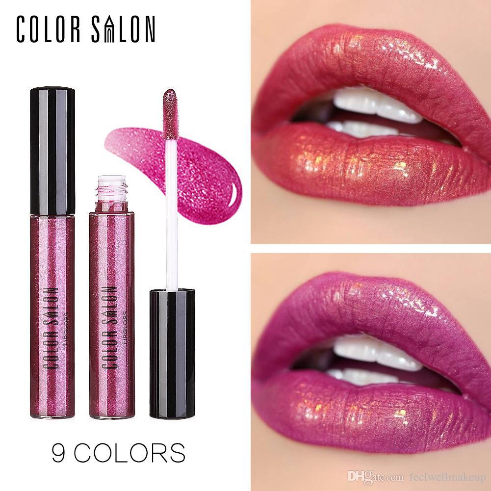 Color Salon Crystal brillo de labios Crystal Liquid Lips Cosméticos Crema hidratante de larga duración Shining Diamond Shimmer Glitter Pintalabios