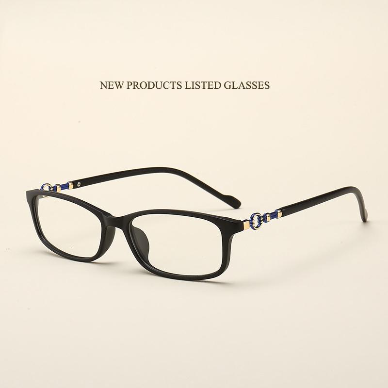 6cc36f5fb04 2019 New Literary Retro Glasses Frame Fashion Hipster Students Flat Mirror  Square TR90 Can Be Equipped With Myopia Glasses Frame.