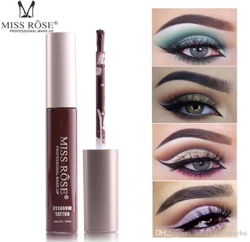 MISS ROSE colored eyebrow cream eyebrow thread liquid single color box not halo not afraid of rubbing anti-sweat anti-grease
