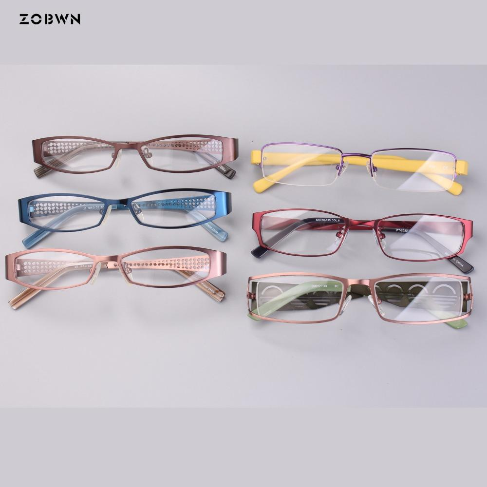 f9b1958a6bd 2019 Mix Wholesale 2018 New Fashion Men Women Eyeglasses Frames Frame High  Quality Men Reading Glasses Frames Optical Eyewear From Zaonoodle