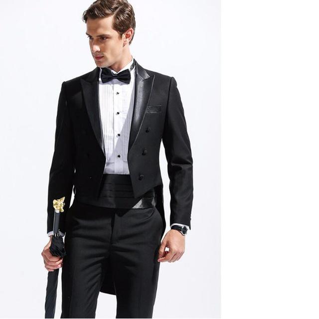 Compre Moda Formal Negro Pantalones Hombres De Chaqueta Los x8Bxwq7P