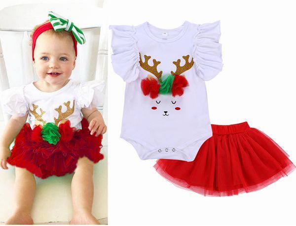 Compre ropa de navidad para beb s moda 2018 ropa para - Trajes de navidad para bebes ...