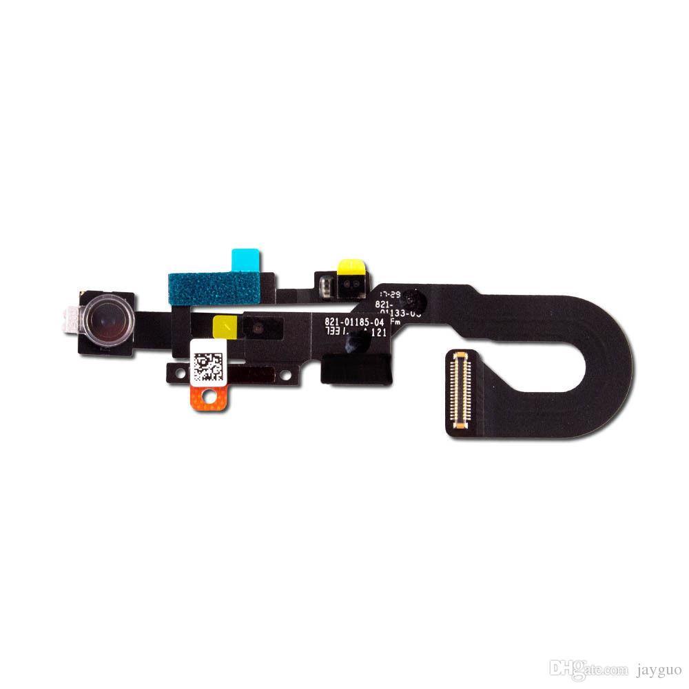Işık Yakınlık Sensörü Flex Kablo Şerit Onarım Bölüm ile iPhone 8 8G 4.7 inç Ön Küçük Yüz Kamera İçin