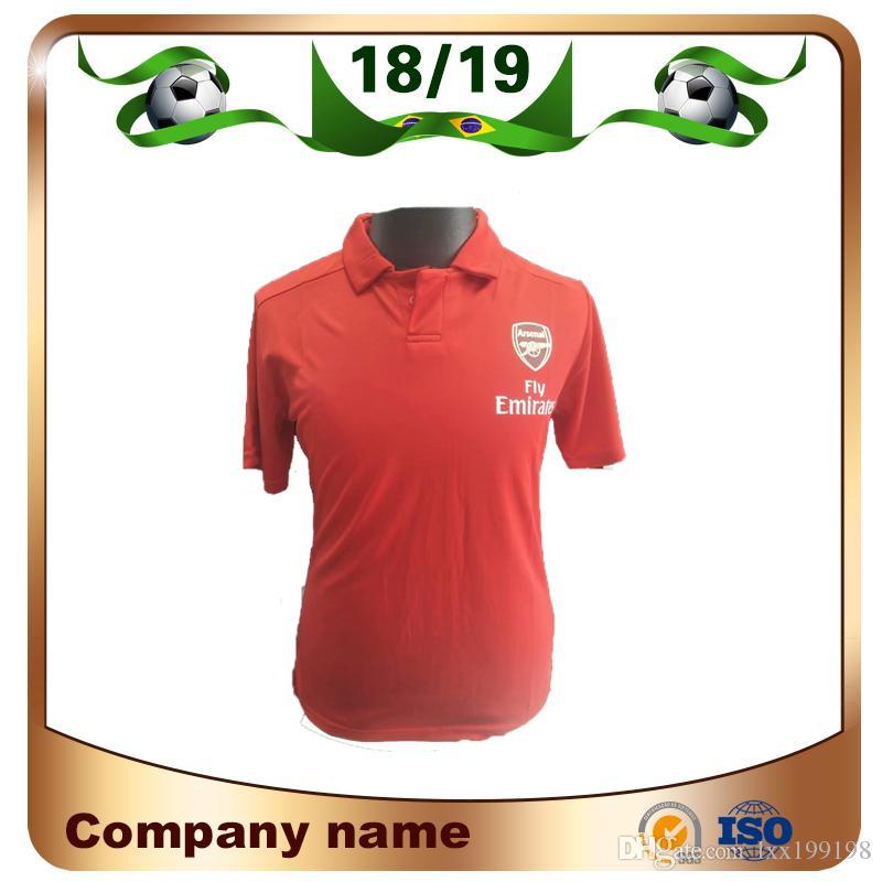 2019 Arsenal Red Polo Jersey De Fútbol 18 19 Arsenal ALEXIS AUBAMEYANGOZIL  Equipo De Club De Manga Corta Fútbol POLO Camisa Uniforme De Ventas Por  Lxx199198 ... 429755ee51cfb
