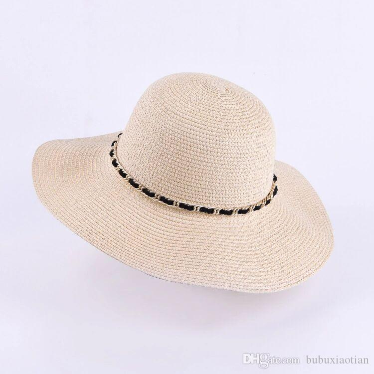 ... Sunshade Female Beach Hat Handcrafted Bucket Hat Outdoor Sun Protection  Folding Hats Partysu Kids Hats Wide Brim Hat From Bubuxiaotian cb36451743c1