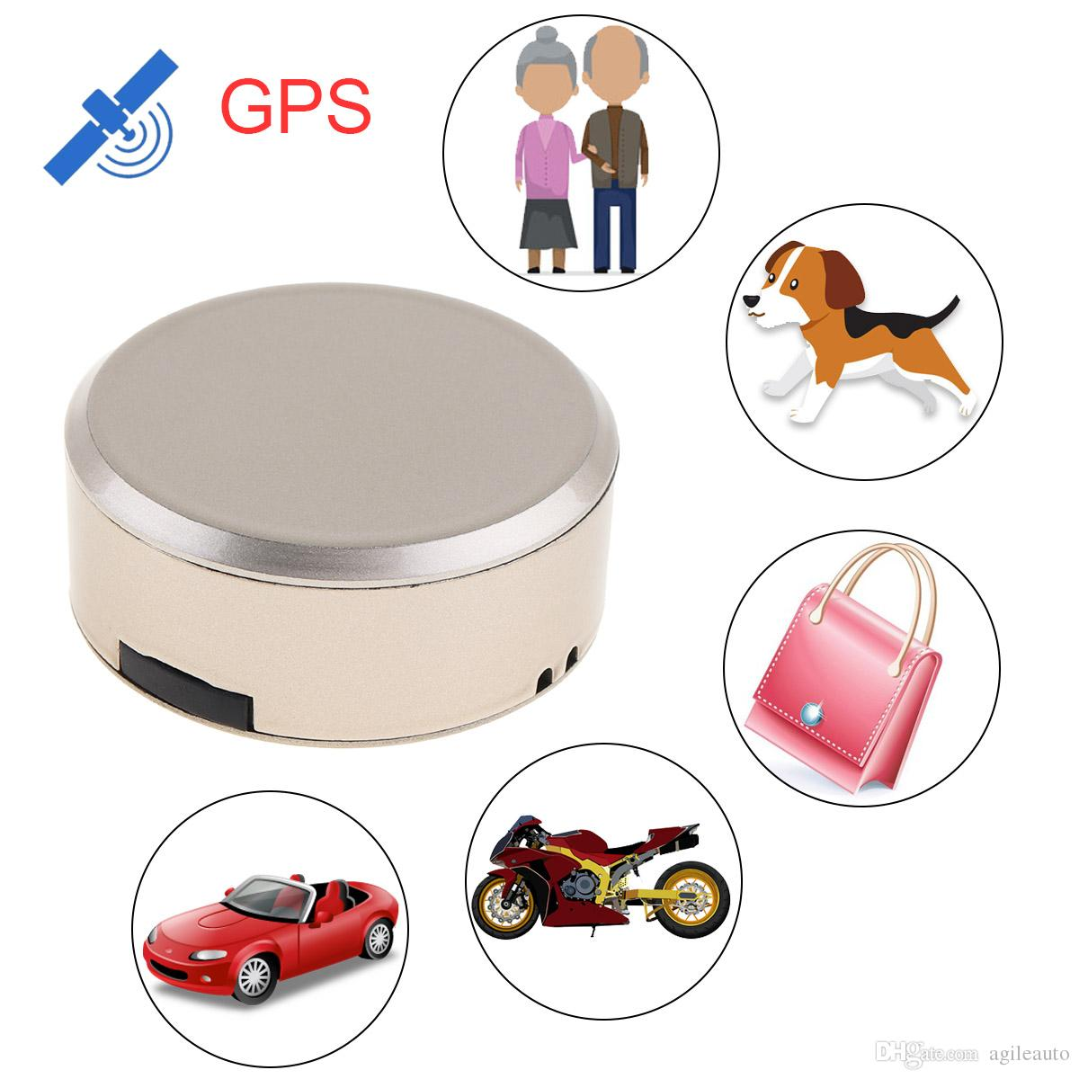GT009 Waterproof Mini Car GPS Tracker Locator with Google Map SOS Alarm GSM GPRS Tracker for Kids Children Pets Cats Dogs GPS_60I