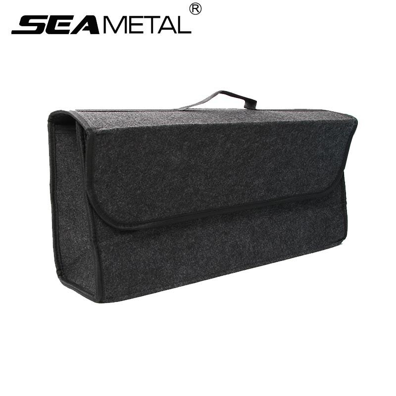 High Quality Car Trunk Organizer Bag Travel Storage Box Cargo Portable Luggage Seat Back  Rear Tail Journey Auto Accessories Stowing Tidying Car Trunk Organizer Car  Trunk ...
