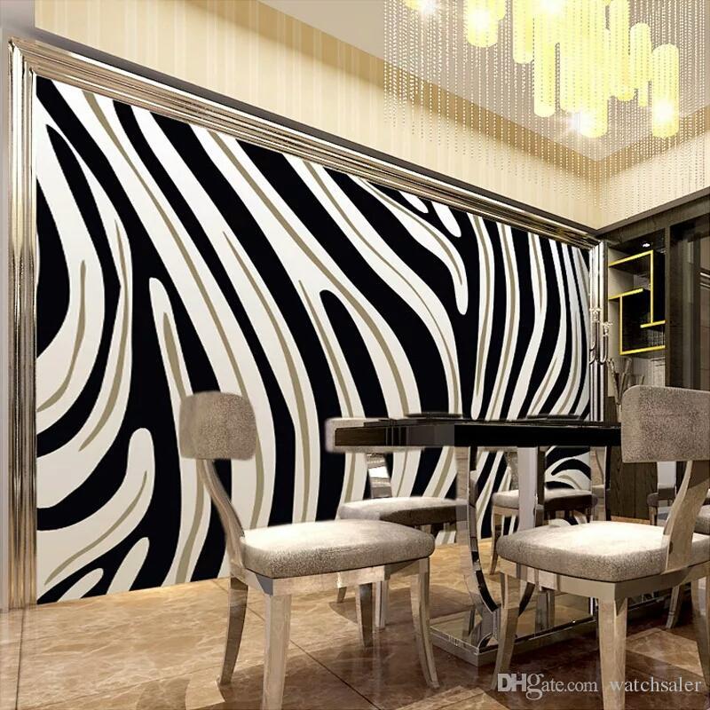 Compre Custom Mural Wallpaper 3d Papel Pintado No Tejido Ptinted