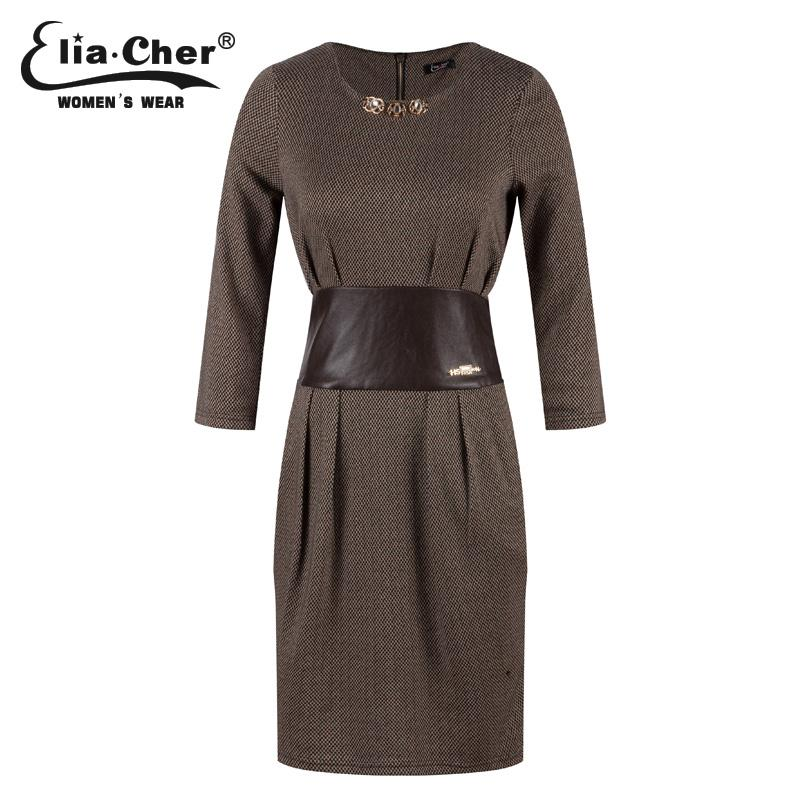 61fe9e212a3 2019 Women Dress Winter Dresses Eliacher Brand Plus Size Long Sleeve China  Evening Party Tunic Dresses Vestidos From Lichee666, $32.85 | DHgate.Com