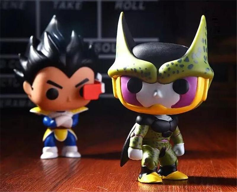 Dragon Ball Funko Pop Figure Frieza Son Goku Cell Vegeta Piccolo Action Figures Dragon Ball Collection Doll Kids Toys