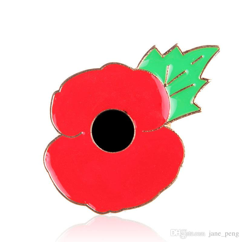 High quality red poppy flower brooches pin for women men suit shirt high quality red poppy flower brooches pin for women men suit shirt broach small lapel pin badge enamel breastpin uk style remembrance day poppy flower mightylinksfo
