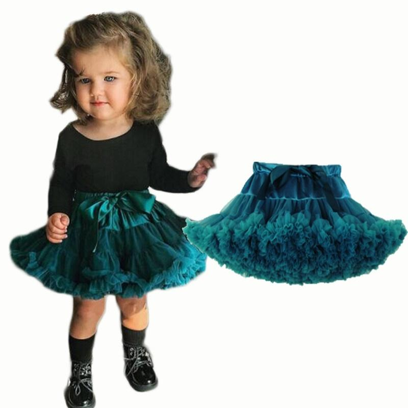 096df9cd9 Baby Girls Tutu Skirt Fluffy Ballet Princess Tulle Party Dance ...