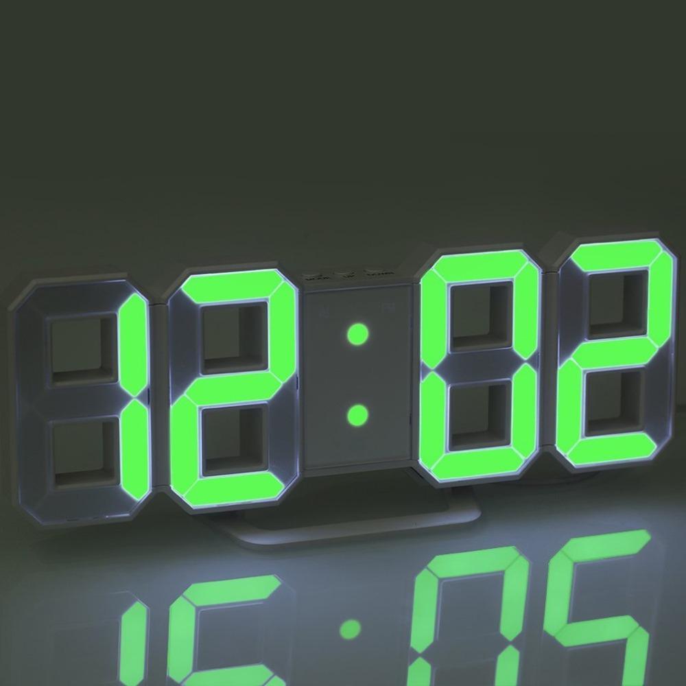 Acquista Orologio Da Parete Digitale A LED Di Grandi Dimensioni Di Design Moderno  Orologio Da Orologio Con Timer Unico La Decorazione Della Casa A $32.38