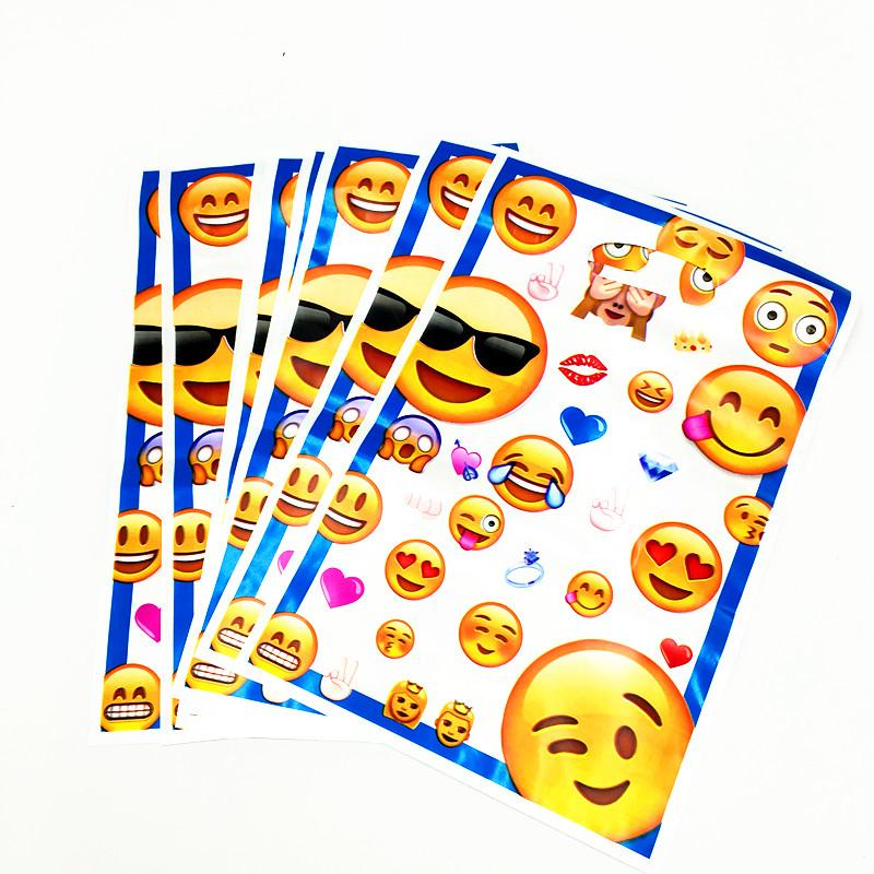 EMOJI LOOT BAGS KIDS BIRTHDAY PARTY FAVORS BABY SHOWER CANDY FAVOR BAG Christmas Gifts Wrapping Kraft Paper From