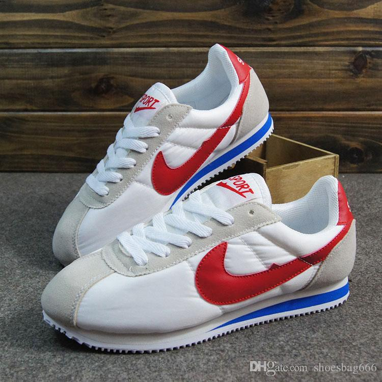 the latest 0efb5 4c272 Hot New 2018 men and women cortez shoes leisure nets shoes fashion outdoor  shoes size 36-44 NN1