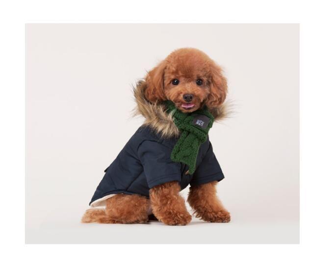 شتاء دافئ كلب الأوشحة الصغيرة جرو تشيهواهوا يوركي القوس التعادل الكلاب الياقات القط وشاح عيد التهيأ اكسسوارات للحيوانات