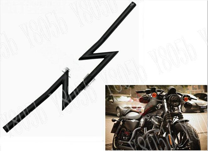 Motorcycle Drag Handlebars 7/8 22MM Z Bars For Yamaha VStar 400 650 1100  1300 Virago Xv 250 535 750 1100 Road Star Custom