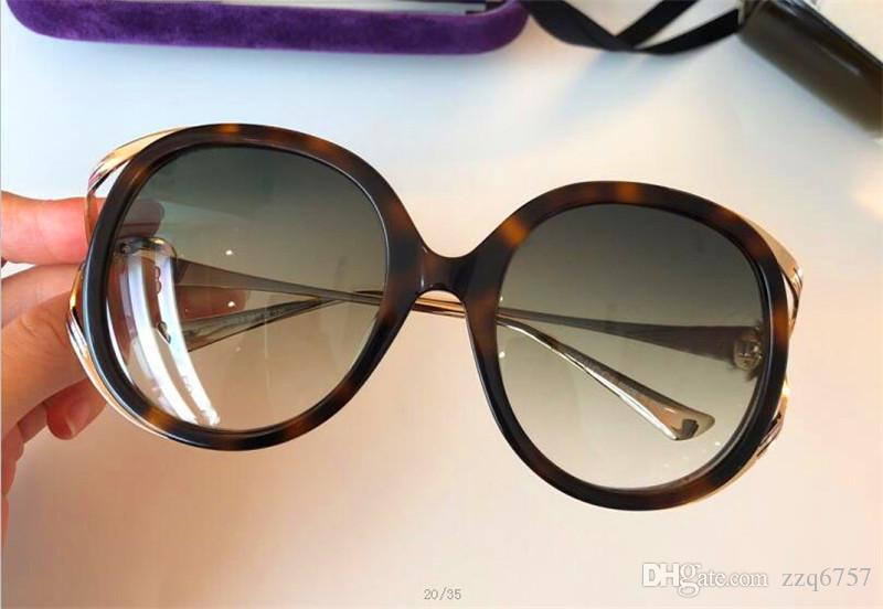fa7d8b572031 The Latest Style Women Sunglasses Classic Plate Frame Metal Mirror ...