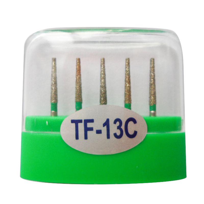 1 paquet  fraises diamantées dentaires TF-13C moyen FG 1.6M pour pièce à main dentaire haute vitesse nombreux modèles disponibles