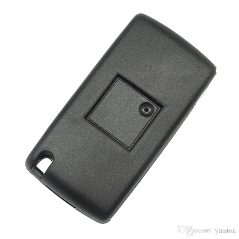 4 Button Key Blank With HU83 Blade Remote Key Shell For Peugeot Citroen Fob Cover Without Battery Place