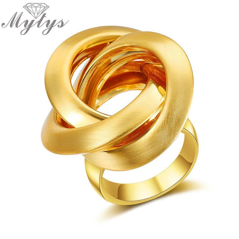 a552dfe949aa Compre Myty Nueva Moda Geométrica Anillo De Oro Para Las Mujeres Círculos  Surround Cruz Diseño Anillos De Metal Dedo Joyería R1986 R1987 A  21.83 Del  Tonic ...