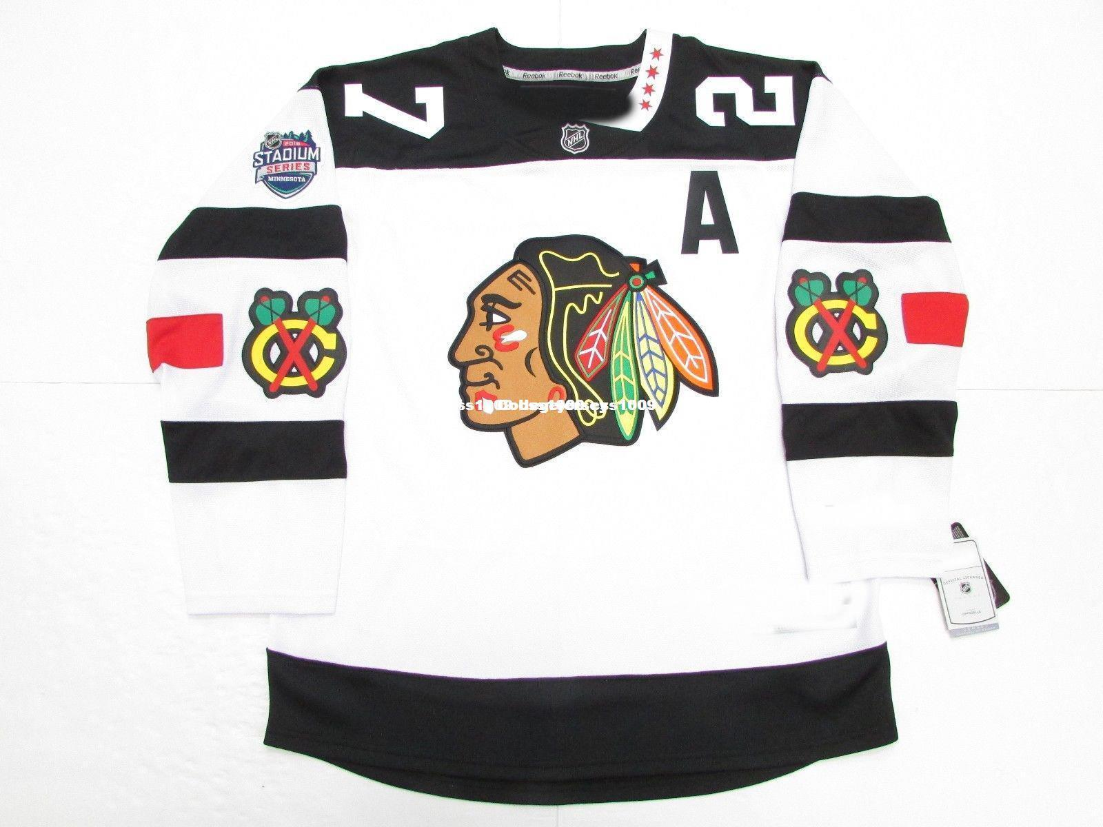 7f015709d7e 2018 Cheap Custom Jeremy Roenick Chicago Blackhawks 2016 Stadium Series  Premier Jersey Stitch Add Any Number Any Name Mens Hockey Jersey Goalie C  From ...