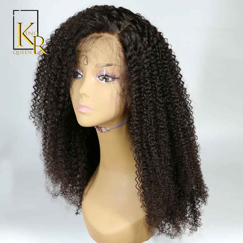 Lace Front Human Hair Wigs For Black Women Brazilian Afro Kinky Curly Wig  Remy Hair Pre Plucked Bleached Knots King Rosa Queen Blonde Wig Cheap Remy  Hair ... c5e51f30fc