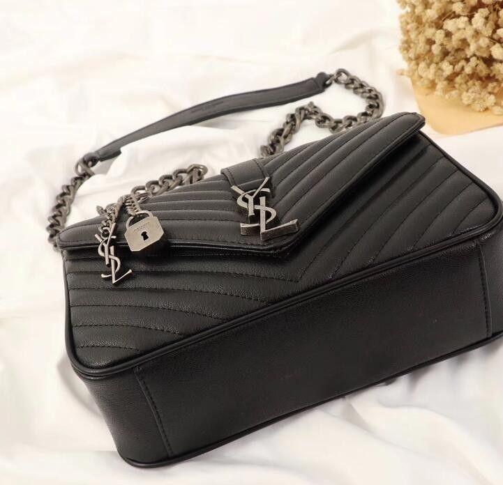 Ladies High End Designer Totes Bags Women Shoulder Bag Black Handbag ... fa6e17b24bda