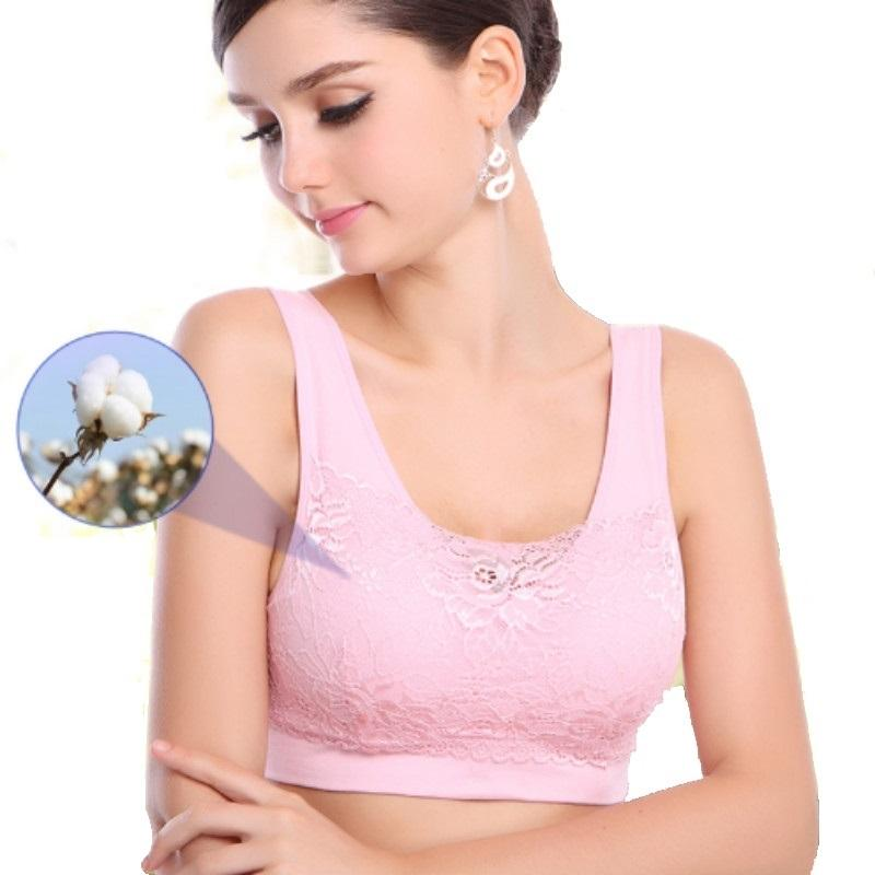 9d9ae624a1 2019 Breast Form Underwear Mastectomy Bra Designed With Pocket Bra Breast  Prosthesis Mastectomy Bras Lace Breasts Cancer Bras B 1402 From Biwanrou