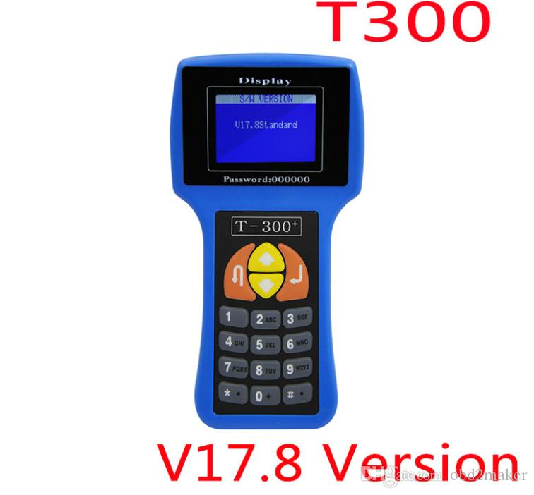 Professional T-300 T300 Auto Key Programmer T Code T 300 Software V17.8 Support Multi brand Cars T300 Key Maker 2 Color