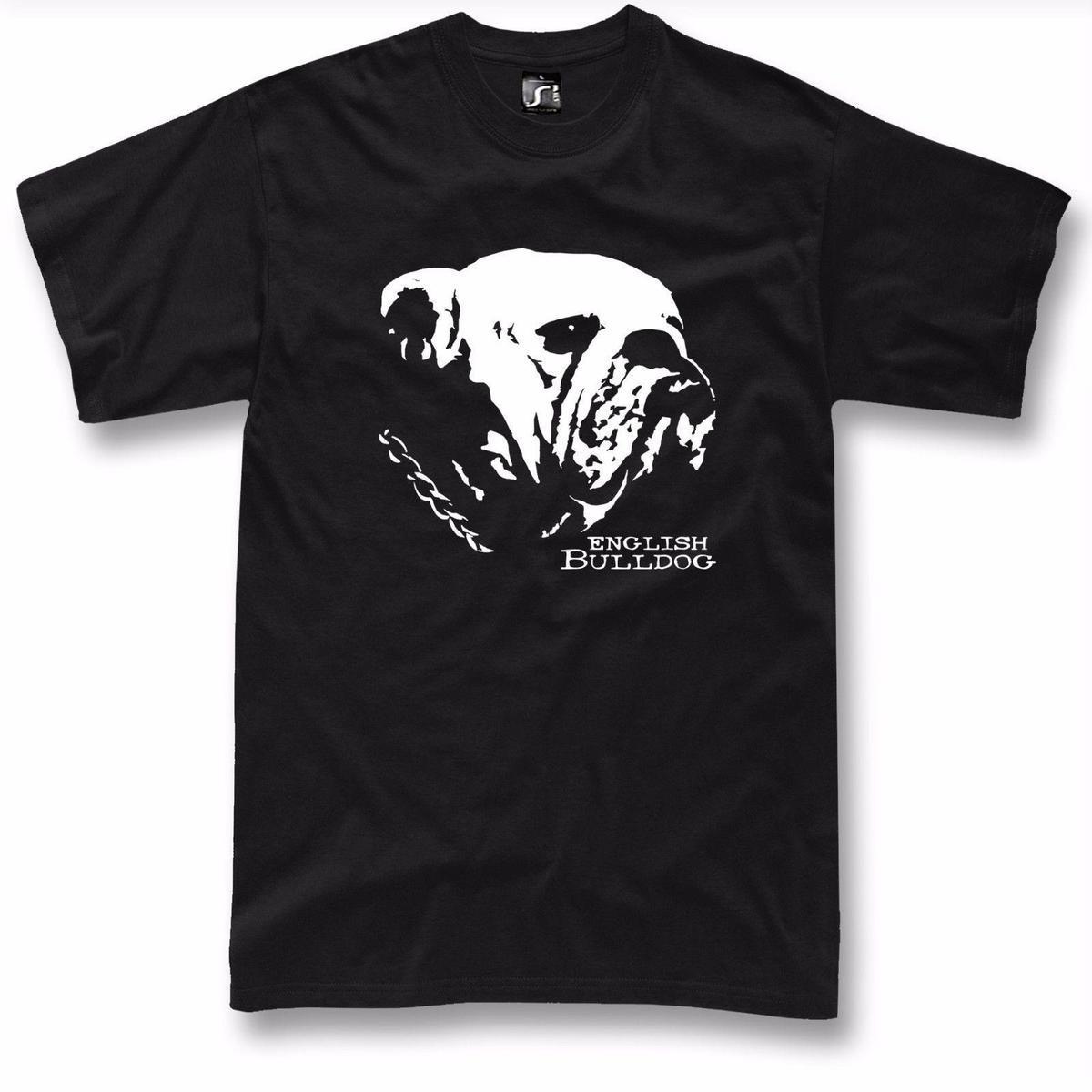 Bulldog T Shirt Designs | English Bulldog T Shirt Dog Graphic New Design British Bulldog S 5xl