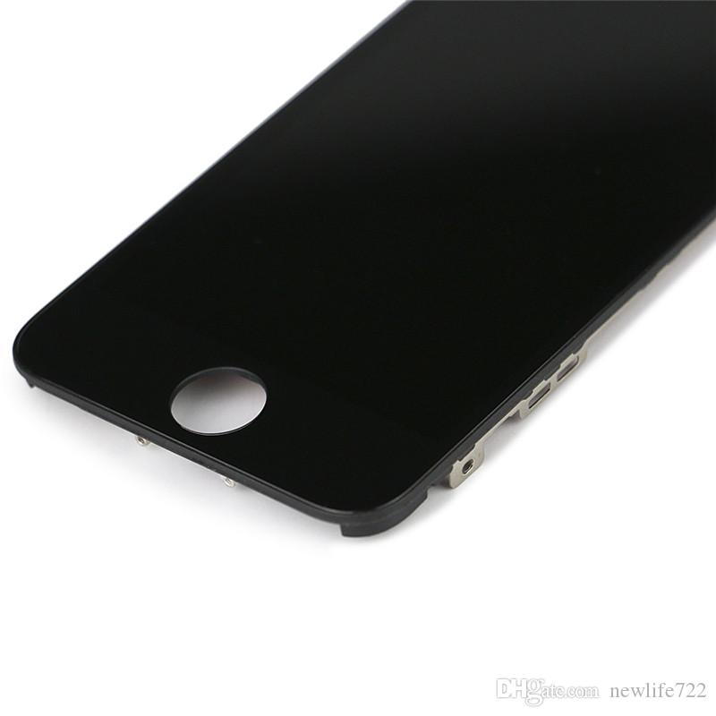 For Iphone 5 5g 5c 5s LCD Display Touch Screen Digitizer Replacement Parts Full Assembly 4.0inch No Dead Pixels In Stock