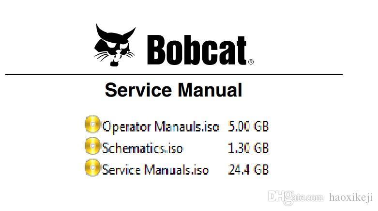 BOBCAT Service Manuals ,Schematics and Operator Manuals [19 1 GB]