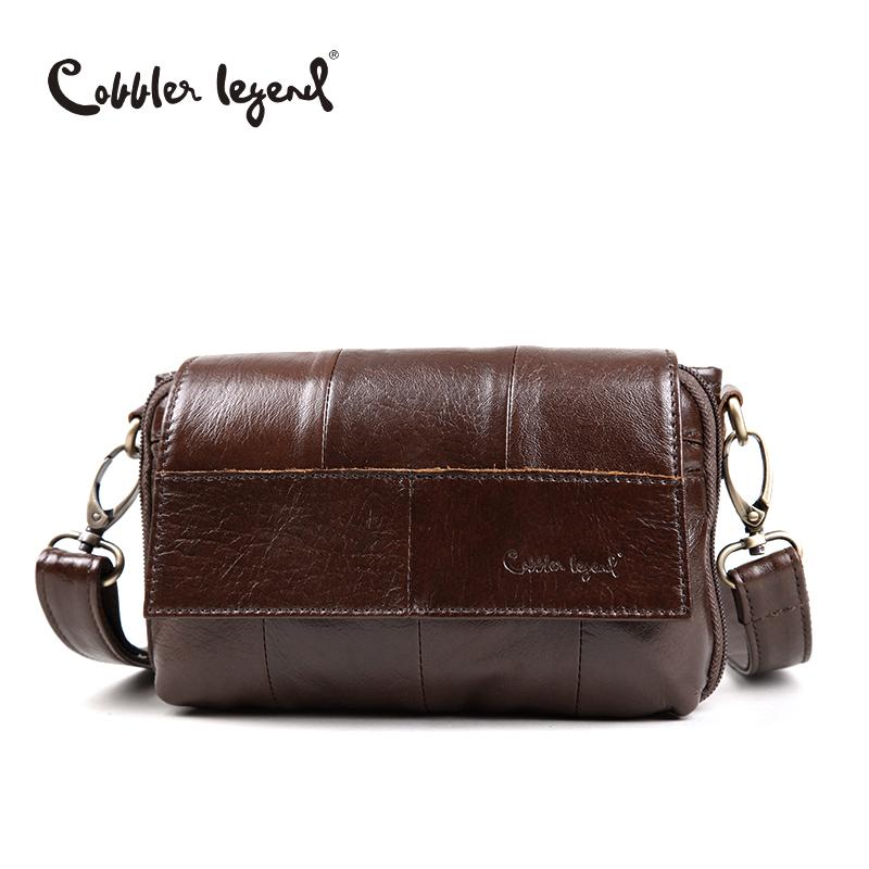 4f3dec9c20e Cobbler Legend Original Women S Messenger Bag Genuine Leather Small  Handbags Vintage Crossbody Shoulder Bags For Women  803211 Y18102504 Beach  Bags Duffle ...