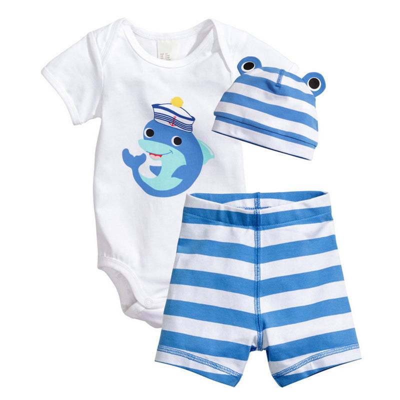 4ad4a166a 2019 Baby Rompers Summer Baby Boy Clothing Sets Cotton Boy Clothes 2017  Newborn Baby Clothes Infant Jumpsuit Kids Clothes From Runbaby