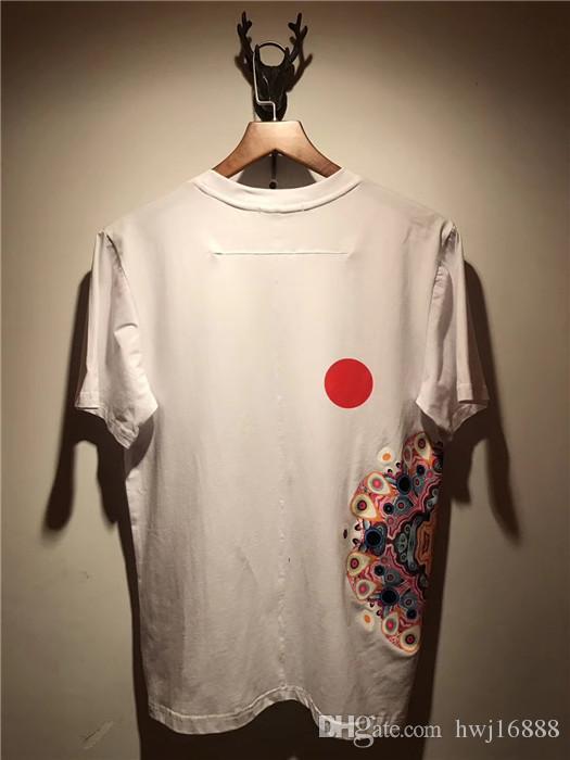 Summer Mens T Shirt 2018 New Fashion brand T Shirt Mens Clothing Gem flower stars printing Short Sleeve Casual Mens Top Tee Shirt
