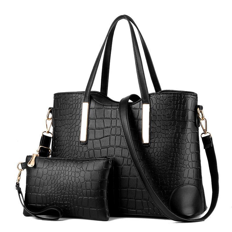 4b2b20bc567 Luxury Handbags Women Bags Designer New Fashion Crocodile Pattern Big Bag  Women's Shoulder Bags for Women 2018