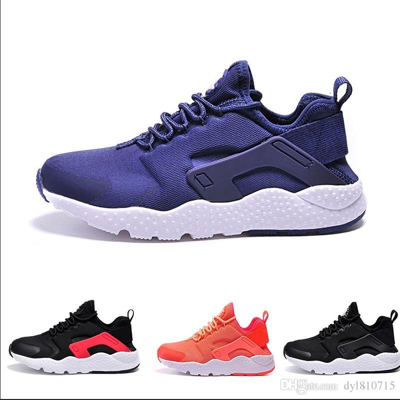 sale retailer 9f366 890a4 Acquista N14 4 2018 Nike Air Huarache Sneakers Scarpe Huaraches Womenshoes  Huraches Scarpe Da Ginnastica Uomo Donna Casual Primavera Autunno Scarpe  Taglia ...