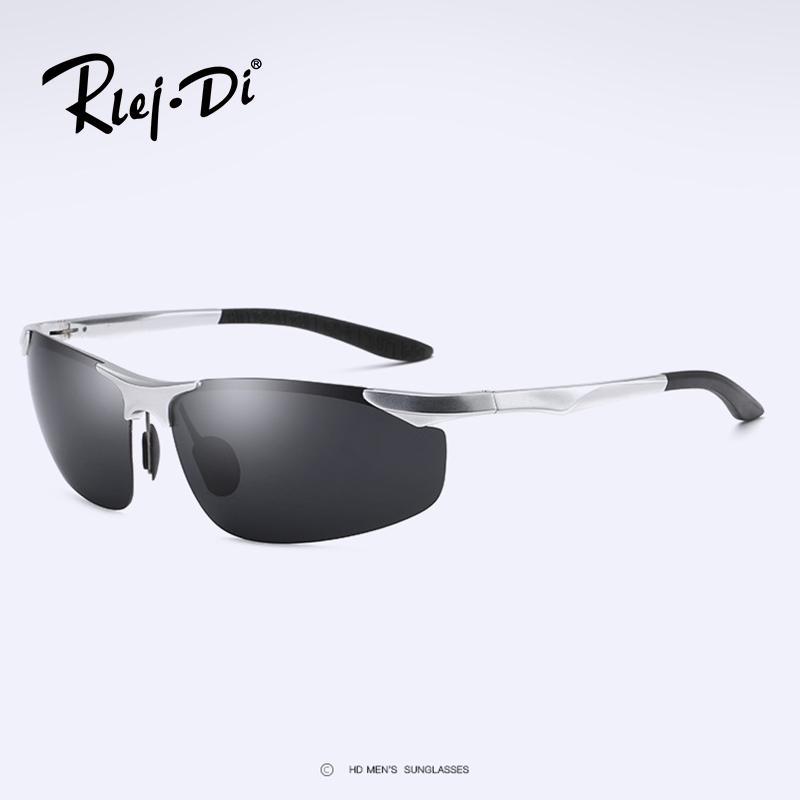 Metall Randlos Sonnenbrille Art Und Weise Großer Rahmen-Sonnenbrille,A2