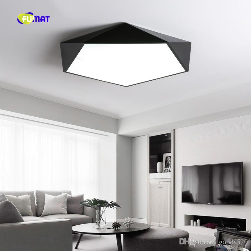 Dimmable LED Ceiling Lamps Design Creative Geometry luminaria Living Room Aisle balcony lamp plafond chambre Ceiling Lighting