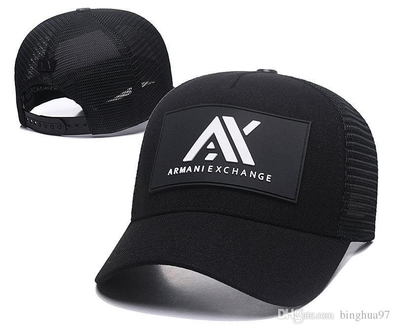 Fashion Baseball Cap AX Snapback Caps Adult Mens Designer Leather Hat High  End Baseball Caps Good Snapback Brand Logo Hats Sport Hats 007 Hats And Caps  ... c8bbc4aca81